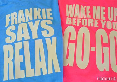 Frankie or Wham! T-shirts
